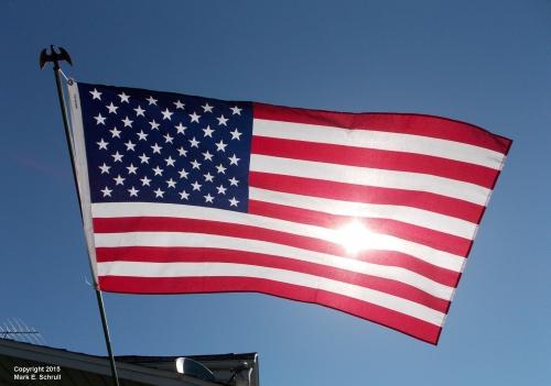 American Flag Sunny 3cr